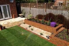 Complete garden redesign