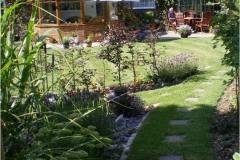 back garden maintenance