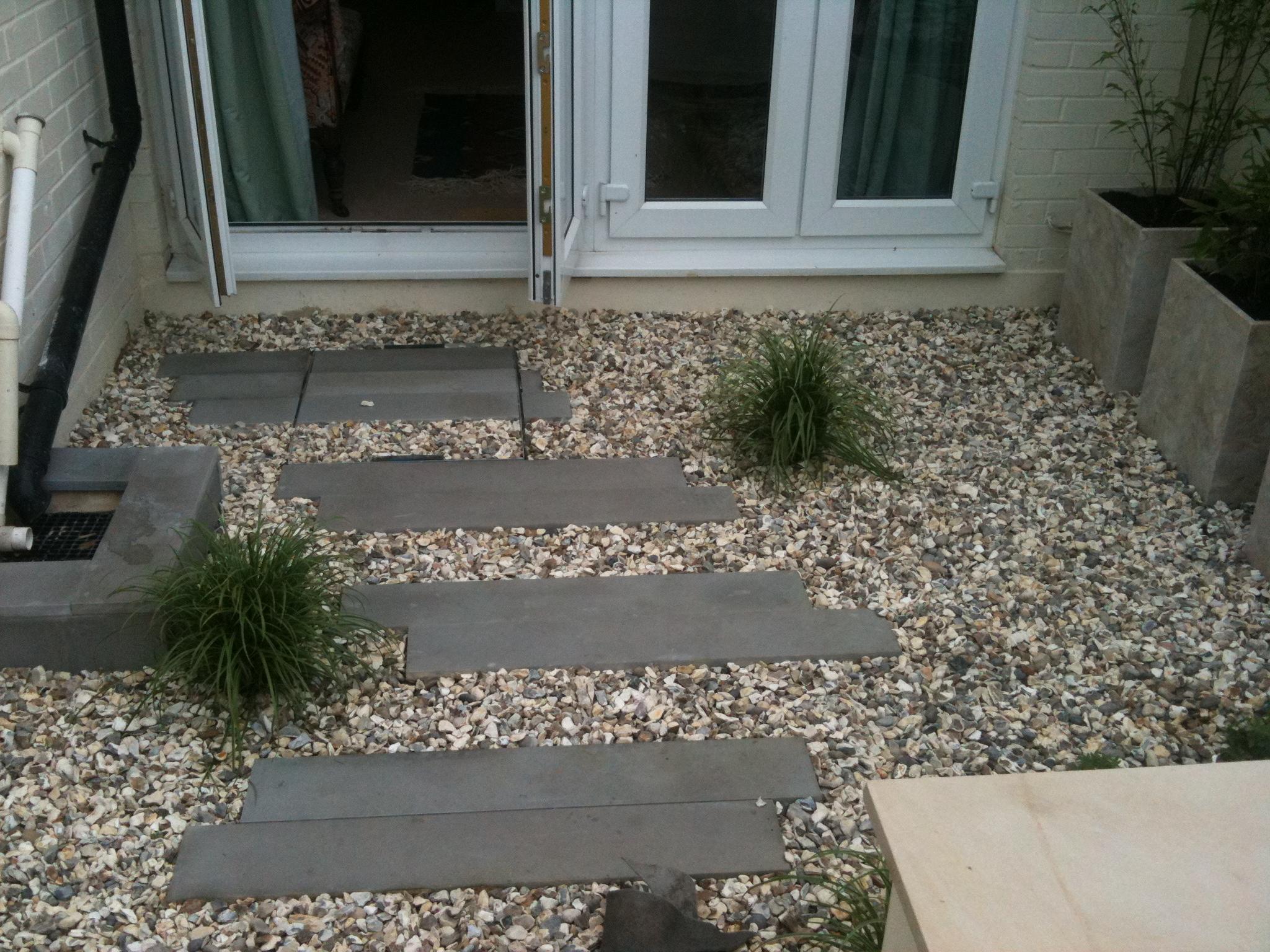 Garden walkway design