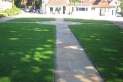 Landscaping walkway feature