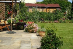 Home garden landscaping