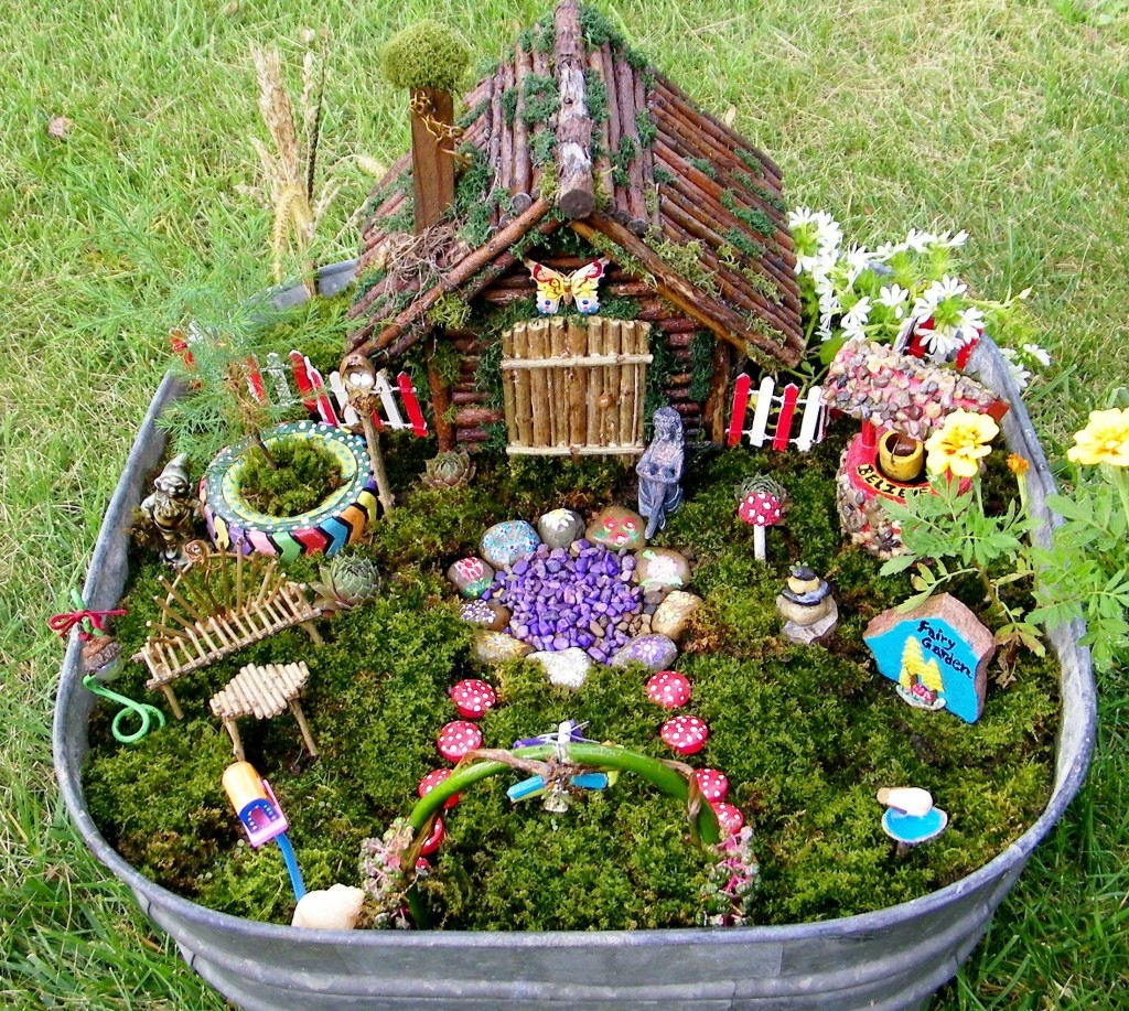 How to make a fairy garden - Minigarten gestalten ...