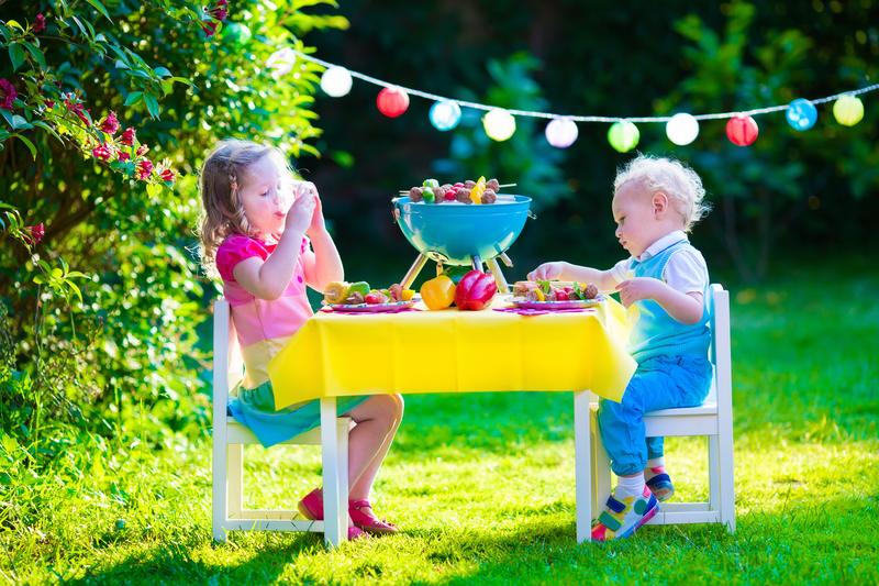 kids summer garden party